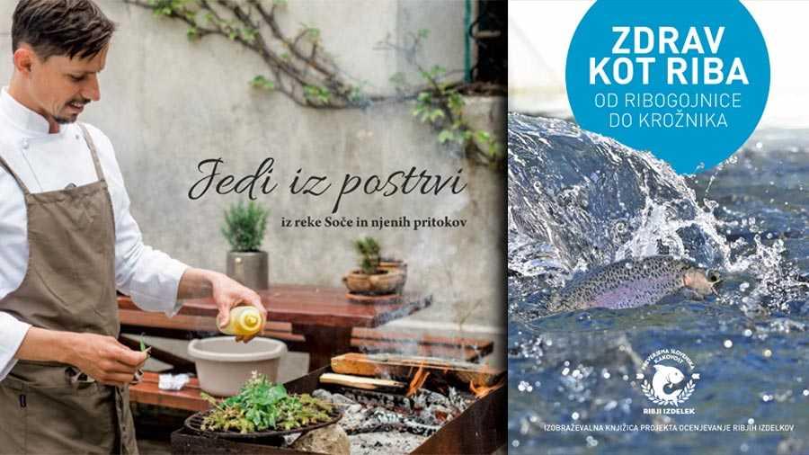Dve novi knjižici o ribah s kuharskimi recepti