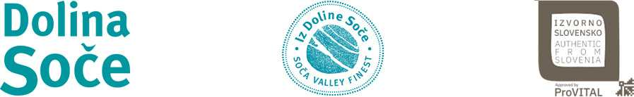 Razpis za pridobitev pravice do uporabe kolektivne blagovne znamke Destinacije Dolina Soče