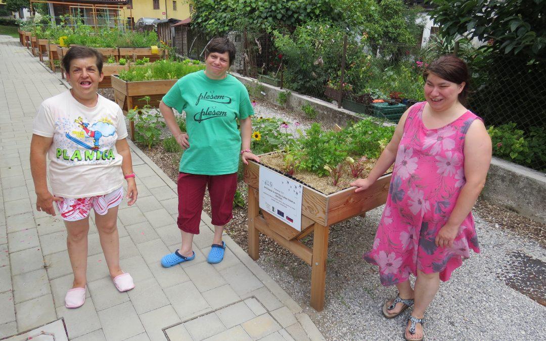 S hortikulturno terapijo do rajskega vrtička