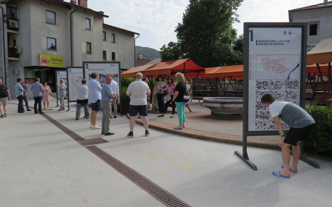 Variantne rešitve za urejanje starega mestnega jedra Tolmina